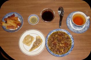 Homemade Asian Feast