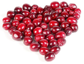 Heart Made of Cranberry