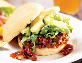 Meat-Free Sloppy Joes